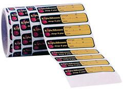 Racket sticker, rol 250 st.