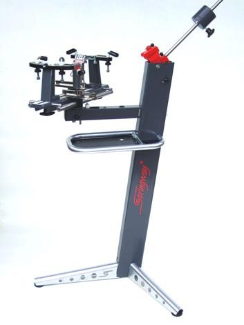 Stringway bespanmachine BL120 met 2 vaste 1-traps tangen