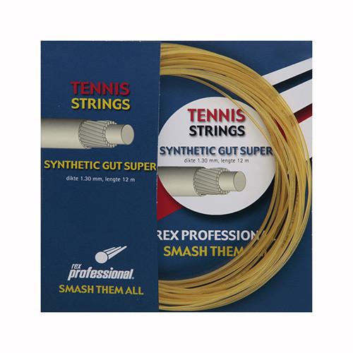 Rex Professional tennissnaar Synthetic Gut Super 12m