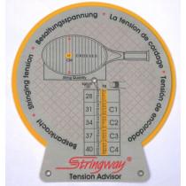 Stringway tension advisor (bespankracht wijzer).