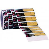 Racket sticker, rol 250 st.
