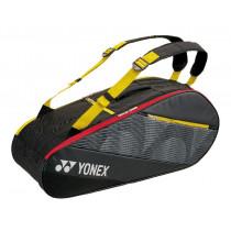 Yonex Active Bag 6R 82026 zwart/geel