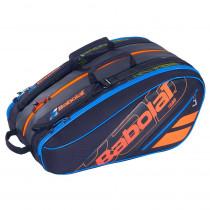 Babolat Racketholder Team Padel zwart-blauw