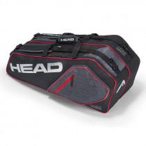 Head Core 6R Combi zwart-zilver