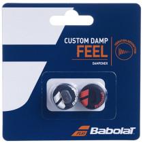 Babolat Custom Damp vibrakil zwart-rood
