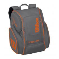 Wilson Tour V Backpack Large grijs-oranje