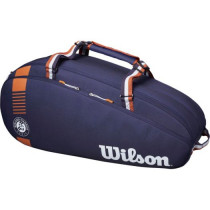 Wilson Roland Garros Team 6 bag navy-clay