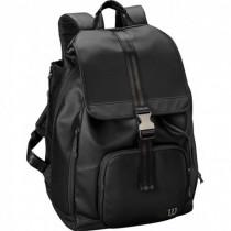 Wilson Womens Fold Over Backpack zwart