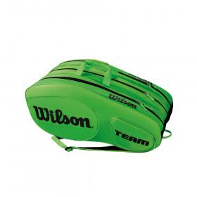 Wilson Team III  12 pack groen/zwart