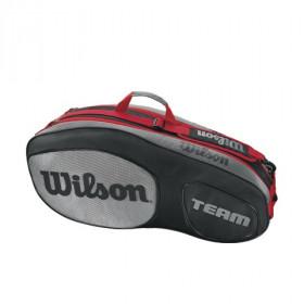 Wilson Team III 6 pack zwart/grijs