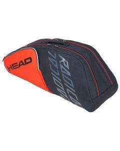 Head Radical 6R Combi oranje-grijs