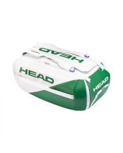 Head Proplayer Duffle bag groen/wit