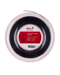 MSV Focus HEX PLUS 25 zwart 200m