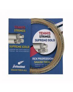 Rex Professional tennissnaar Supreme Gold 12m
