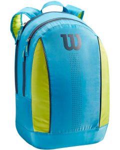 Wilson Junior Backpack Blue-lime-green